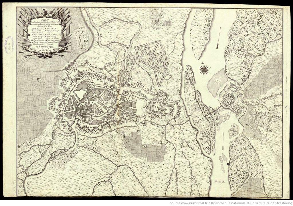 Plan von Strassburg 1735