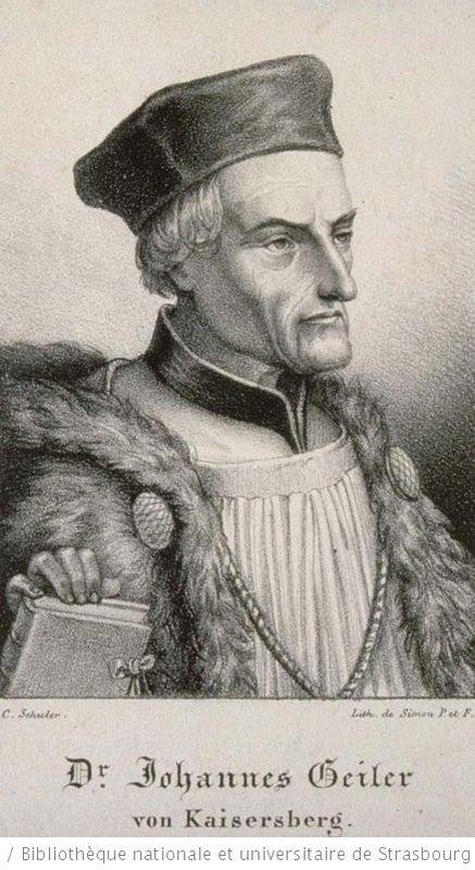 Prediger Johann Geiler von Kaysersberg
