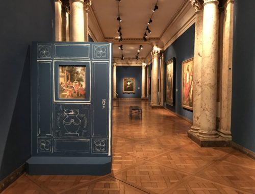 Blick in die Gemaeldegalerie des Museums der Bildenden Kuenste in Strassburg