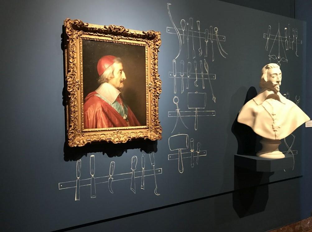 Portraet Kardinal Richelieu von Philippe de Champaigne im Kunstmuseum Strassburg
