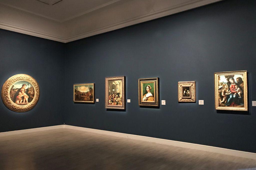 Bilder italienischer Renaissance-Meister im Musée des Beaux Arts in Strassburg