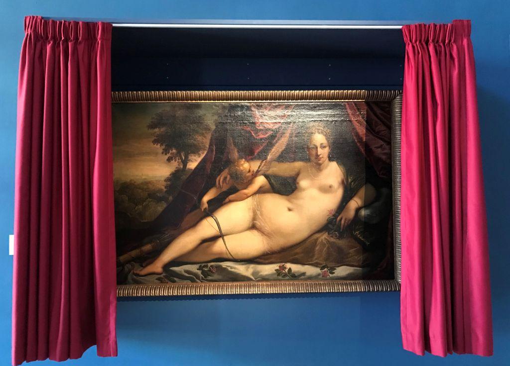 Gemaelde Venus und Amor im Musée des Beaux Arts Strasbourg