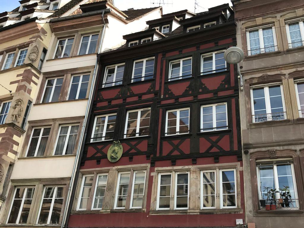 ehemaliges Wohnhaus von Johann Wolfgang von Goethe in Strassburg