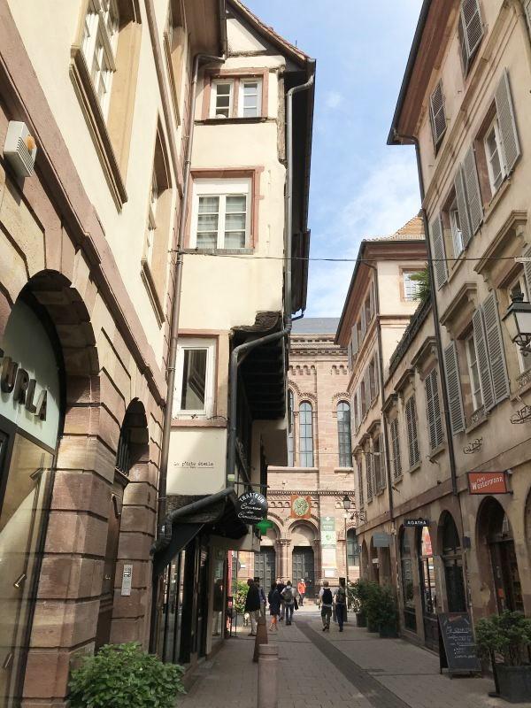 Goldschmiedgasse in Strassburg