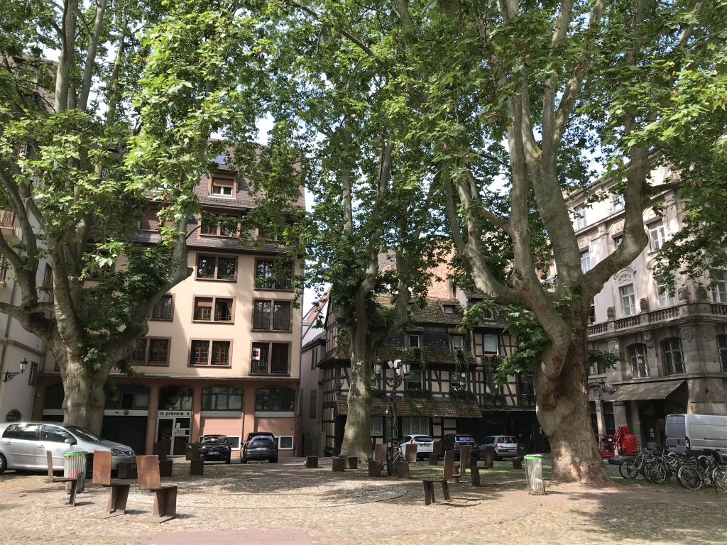 Place du Marche Neuf in Strassburg