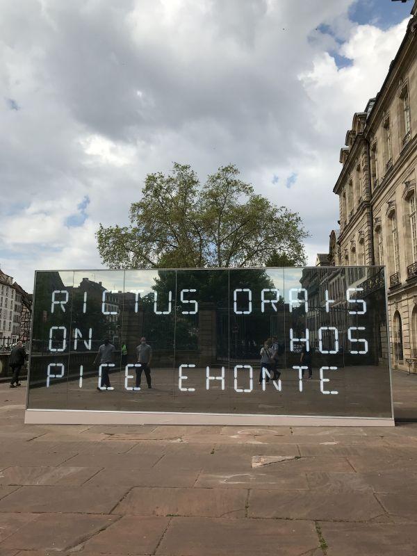 Installation Yes:No,Perhaps - LAb[au] - L'Industrie Magnifique-2021