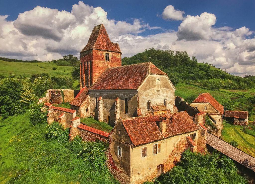 aus dem 8. Bildband Kirchenburg in Bussd; Foto aus dem Buch Ueber Siebenbuergen Kirchenburgen im mittleren Kokelland