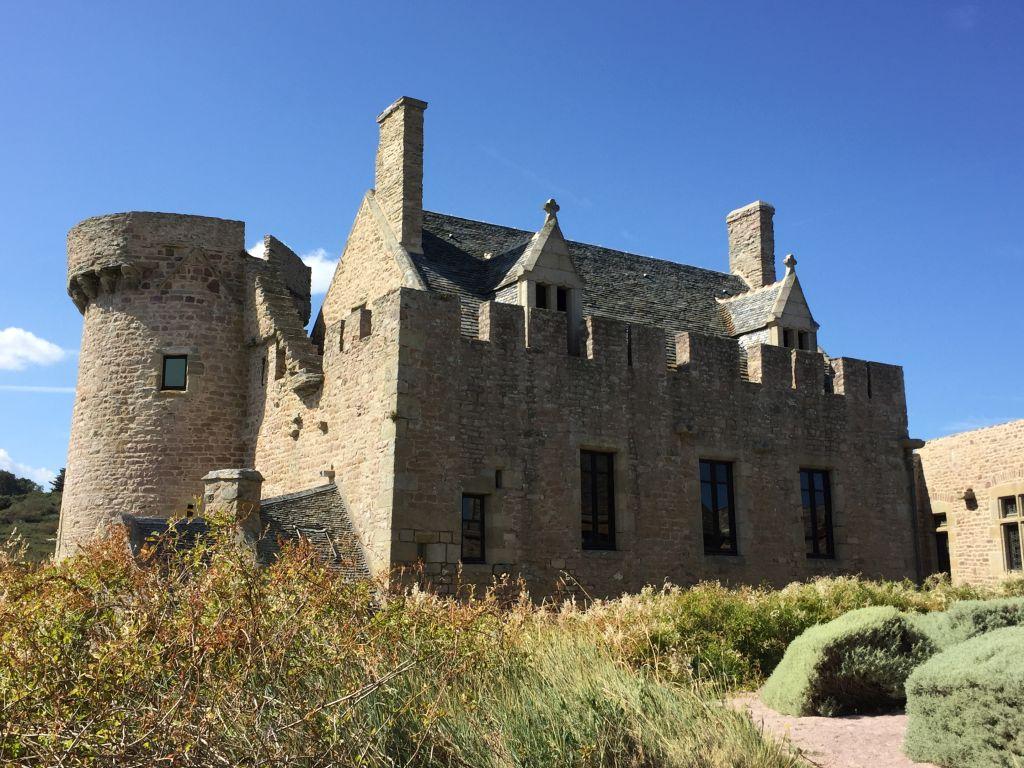 Herrenhaus in Festung La Latte an der Cote Vermeille