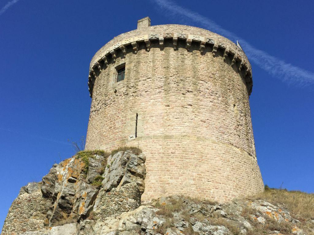 Bergfried Fort La Latte, Bretagne