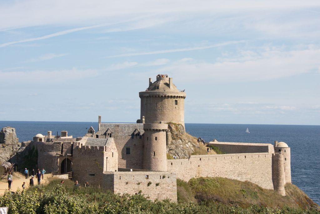 Fort la Latte an der Cote Vermeille, Bretagne