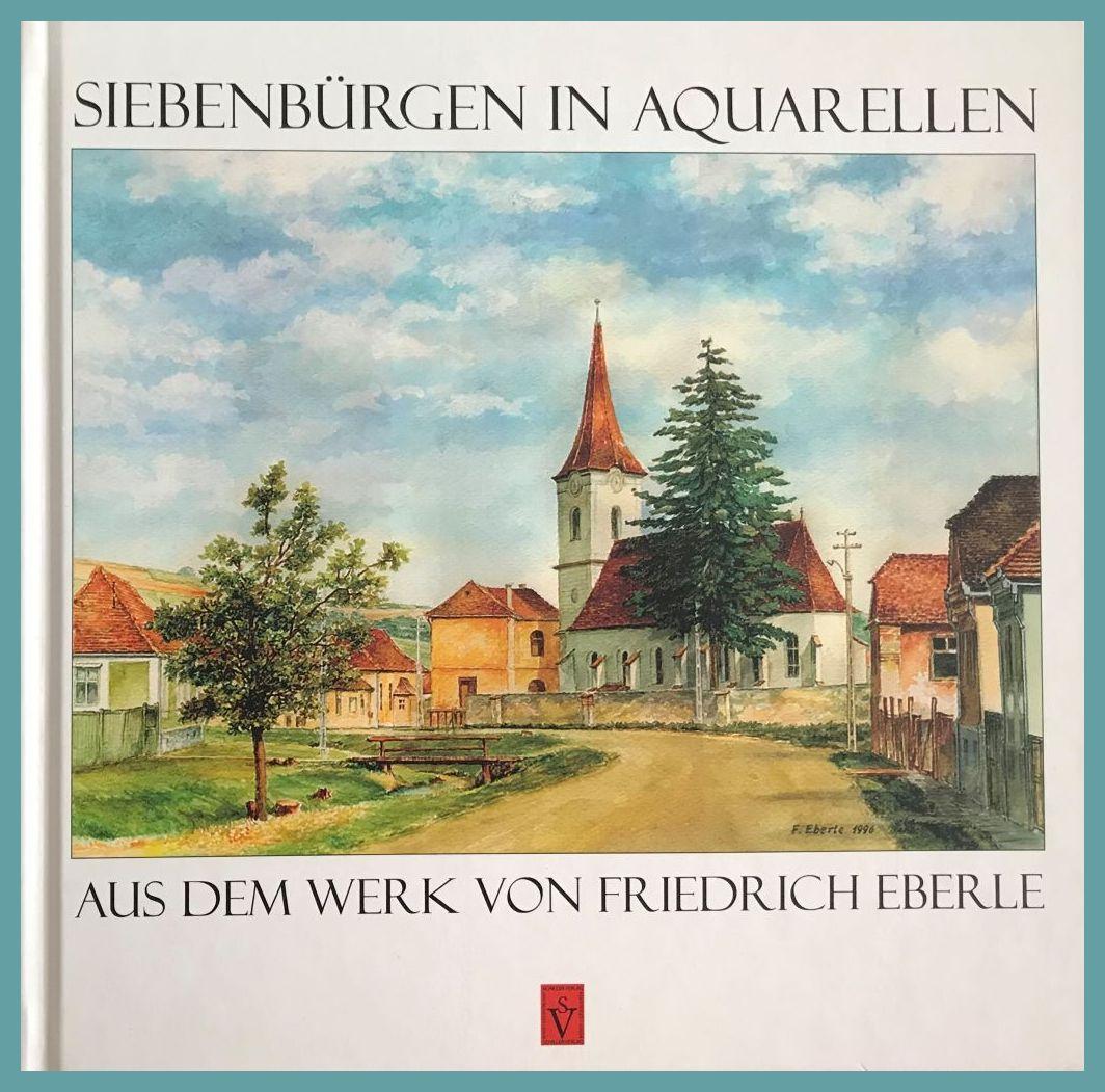 Buchcover Siebenbürgen in Aquarellen