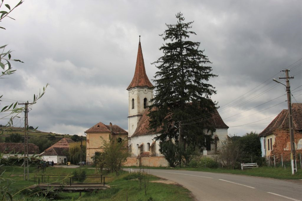 Kirche in Reussdorf Siebenbuergen